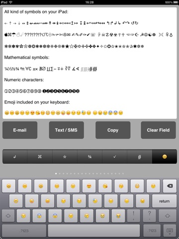Symbol Keyboard Adds Symbols Emoji And Ascii Keyboard App Price