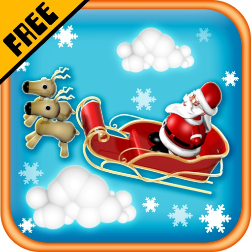 Santa Chariot Escape Free icon
