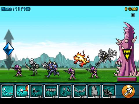 Cartoon Wars HD screenshot four