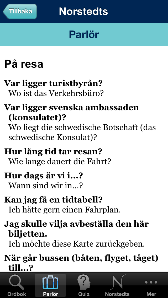 Norstedts stora tyska ordbokのおすすめ画像3