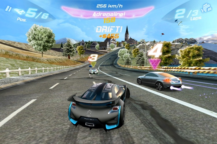 Asphalt 6: Adrenaline screenshot-4