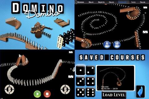 Domino Physics Runs
