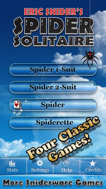▷Spider Solitaire!