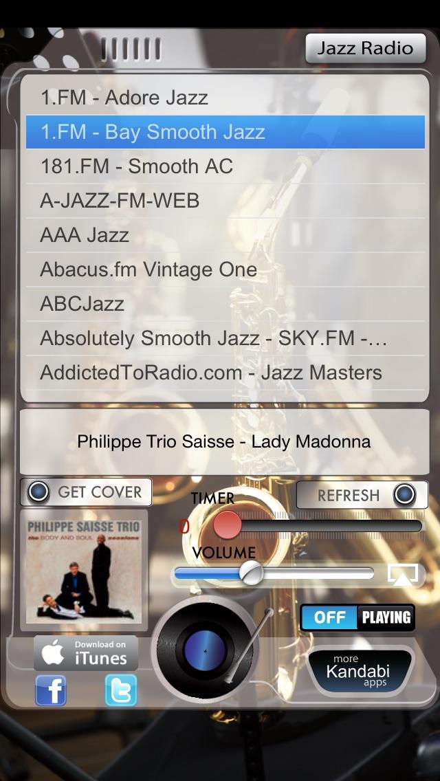 Jazz Radio Screenshot