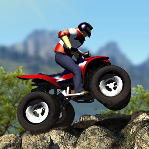 Mountain ATV Rider : Extreme Sports