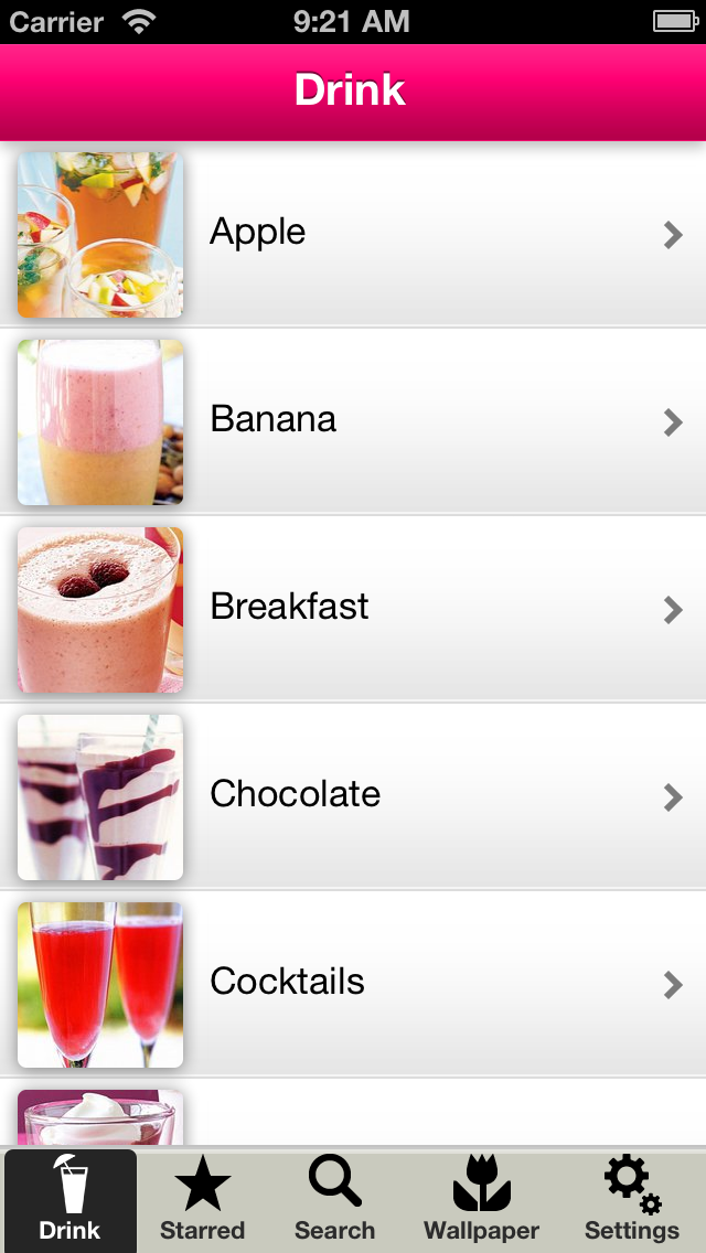 Drink Recipes Free