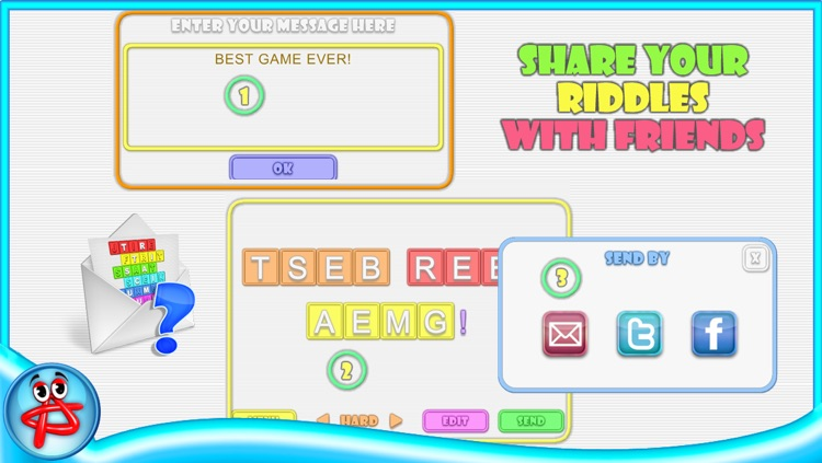 Words and Riddles: Crossword Puzzle screenshot-3