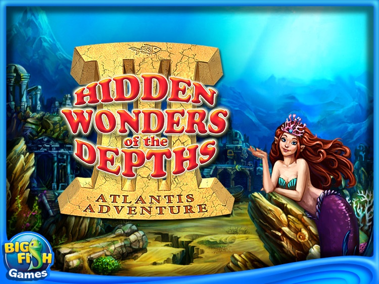 Hidden Wonders of the Depths 3: Atlantis Adventures HD