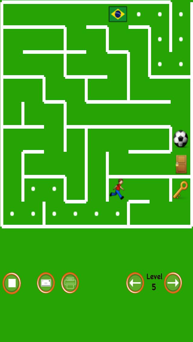 Soccer Maze screenshot two