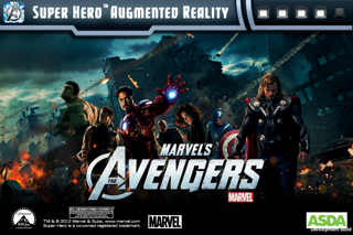 Super Hero Augmented Reality UK