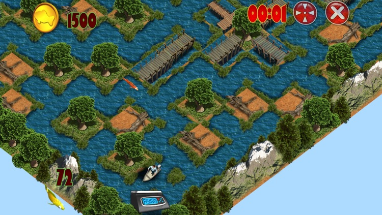 Fish On! Maze Game for the Mega Fisherman screenshot-3