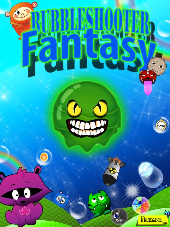 Bubble Shooter Fantasy HD screenshot-4