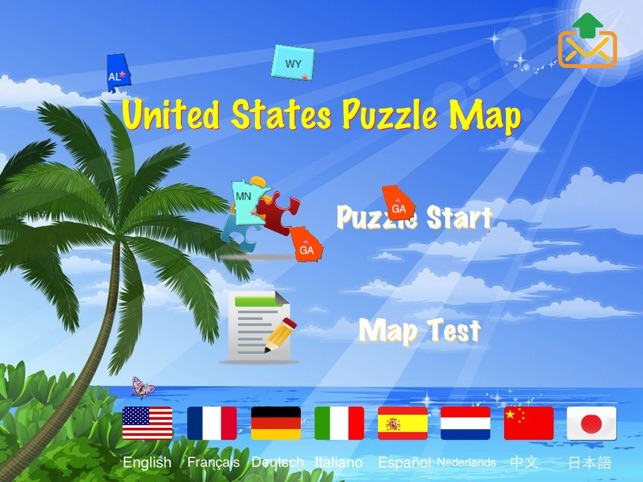 ‎United States Puzzle Map