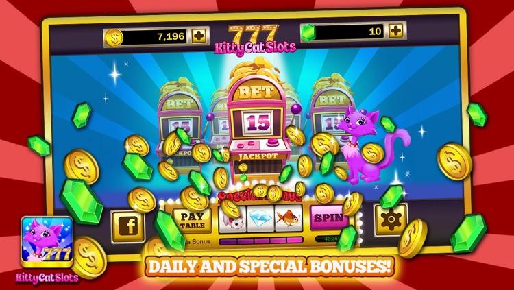 Kitty Cat Slots™ – FREE Premium Casino Slot Machine Game screenshot-4