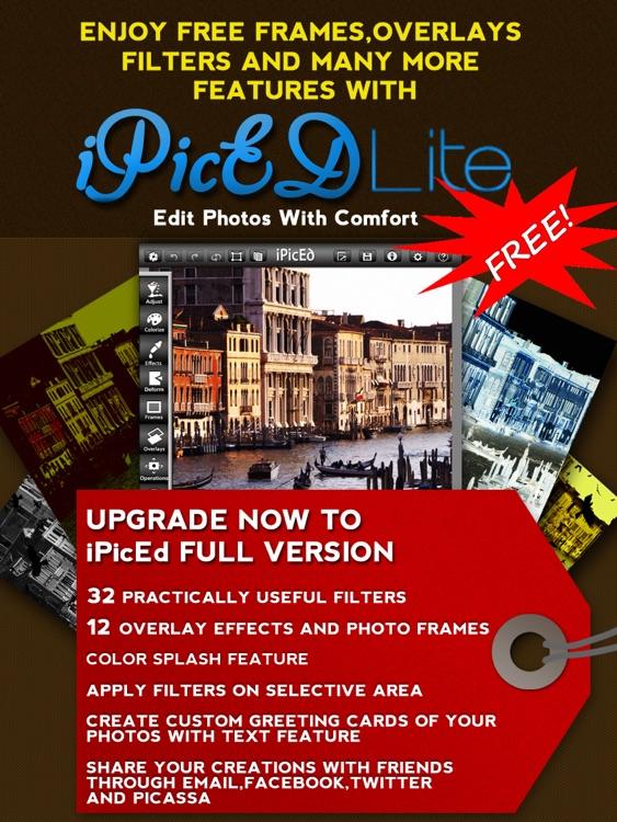 iPicEd Lite for iPad