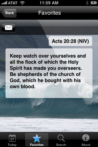 My Daily Bread (Bible Verse: NAB, KJV, NIV, Christian) screenshot-4