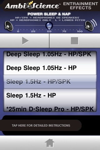 Power Sleep & Nap | AmbiScience™ • Binaural & Isochronic Ambient Sleep Utility