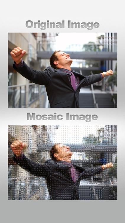 InstaMosaic - Photo Mosaic Generator screenshot-4