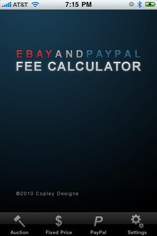 eBay & PayPal Fee Calculator