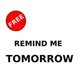 Remind me tomorrow! - Free