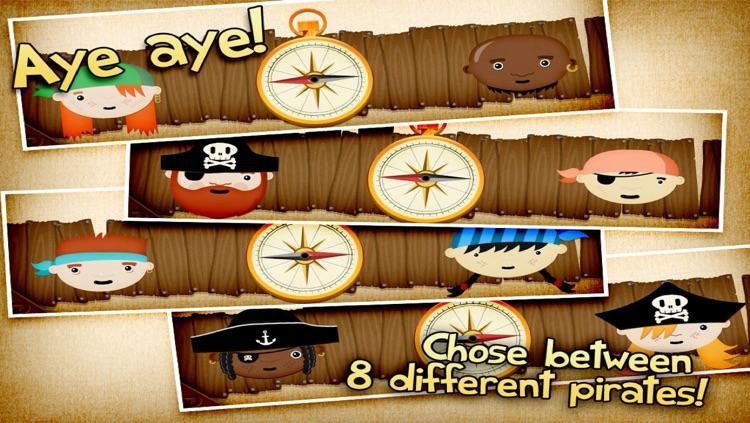 The Pirate's Treasure - a memo game for kids screenshot-3