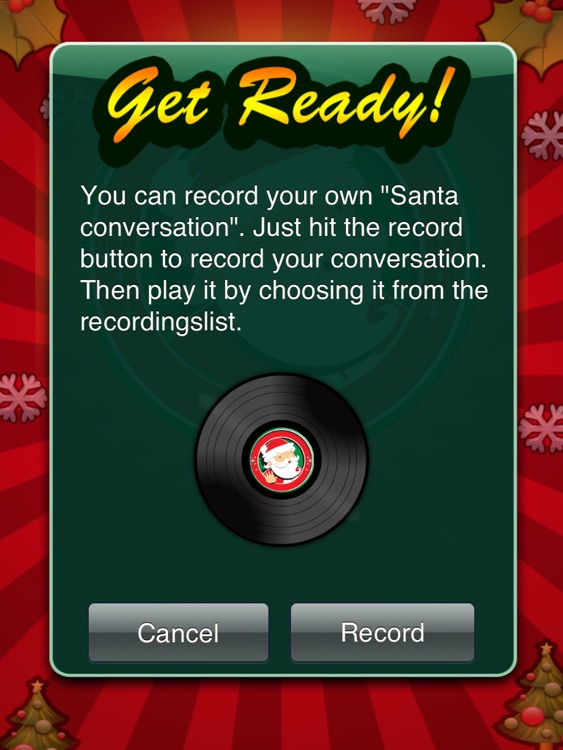 Santa's Video Chat HD screenshot-2