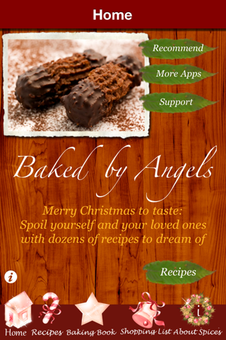 Christmas Cookies - Heavenly Recipes Baked by AngelsScreenshot of 1
