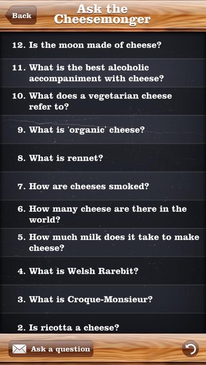 Ask The Cheesemonger screenshot-3