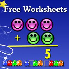 Activities of Free Kindergarten math worksheets