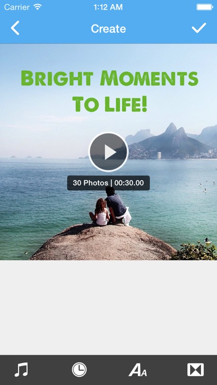 Instaflip - Create video slideshows with photos from your albums or your Instagram account screenshot-3