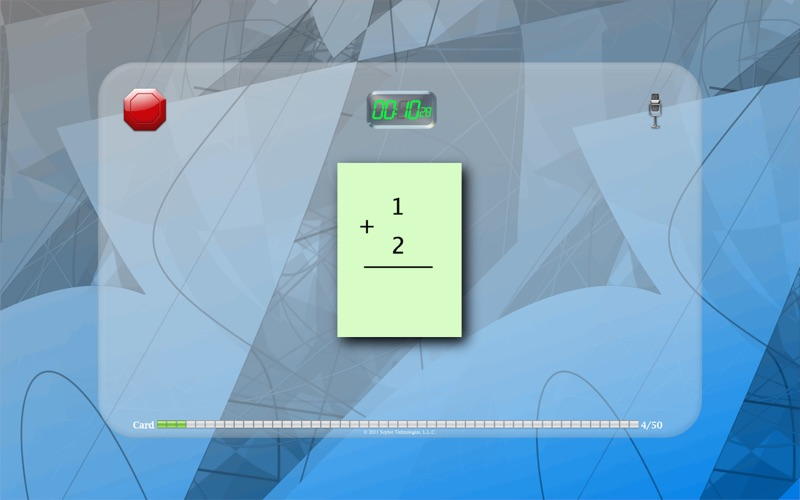 FlashToPass Free Math Flash Cards Screenshot