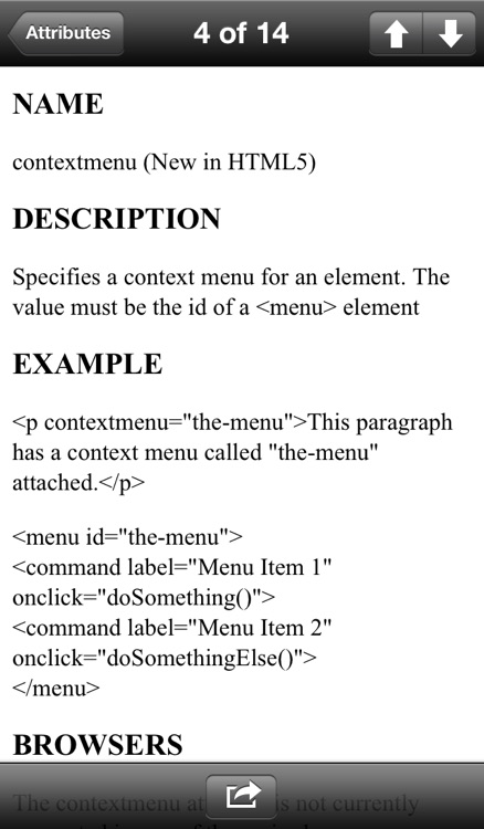 HTML5 Reference Guide screenshot-2