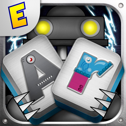 Alphabet Robots Mahjong