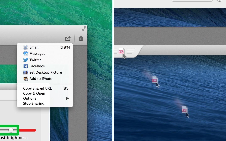 Screenshot do app Skitch