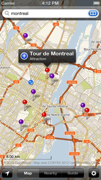 Smart Maps - Montreal screenshot-4