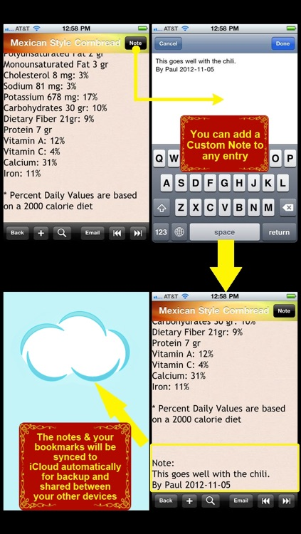 High Blood Pressure Recipes & Food screenshot-3