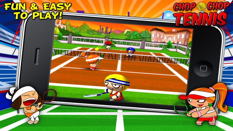 Chop Chop Tennis screenshot-1