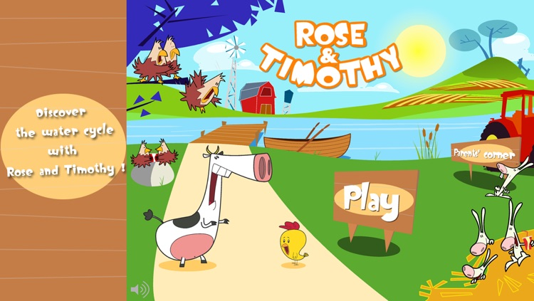 The water cycle with Rose & Timothy