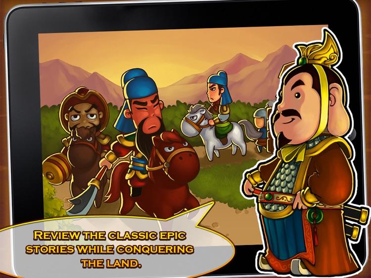 Three Kingdoms TD - Legend of Shu HD Free screenshot-4