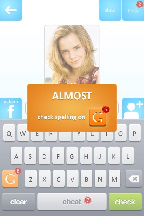 Celebrity Quiz Game screenshot-4