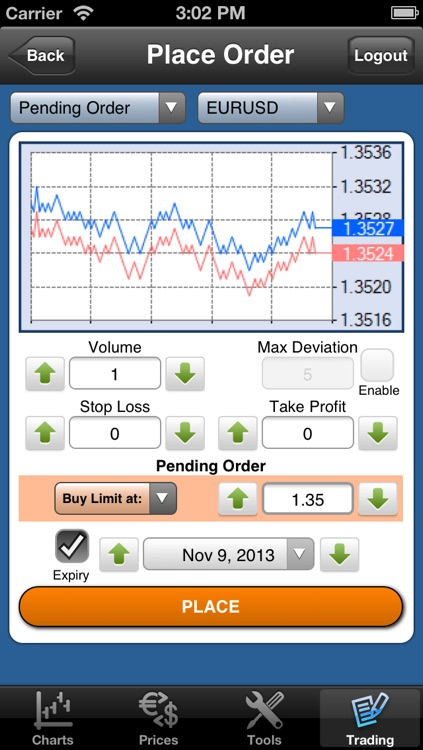 Forex On The Go Premium screenshot-4