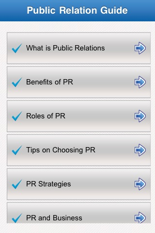 Public Relation Guide screenshot-1