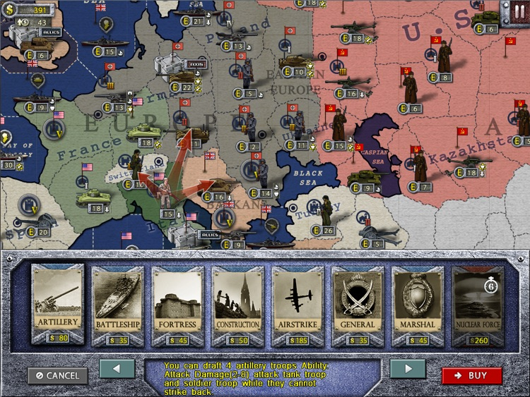 World Conqueror 1945 for iPad screenshot-4
