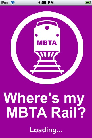 Where's my MBTA Rail? screenshot-0