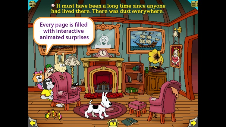 Harry and the Haunted House – Wanderful interactive storybook in English and Spanish screenshot-3