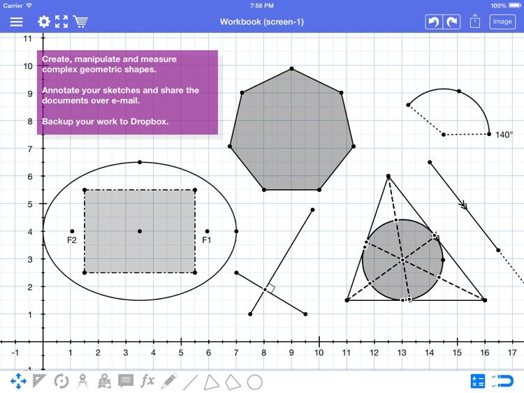 Geometry Pad for Kids