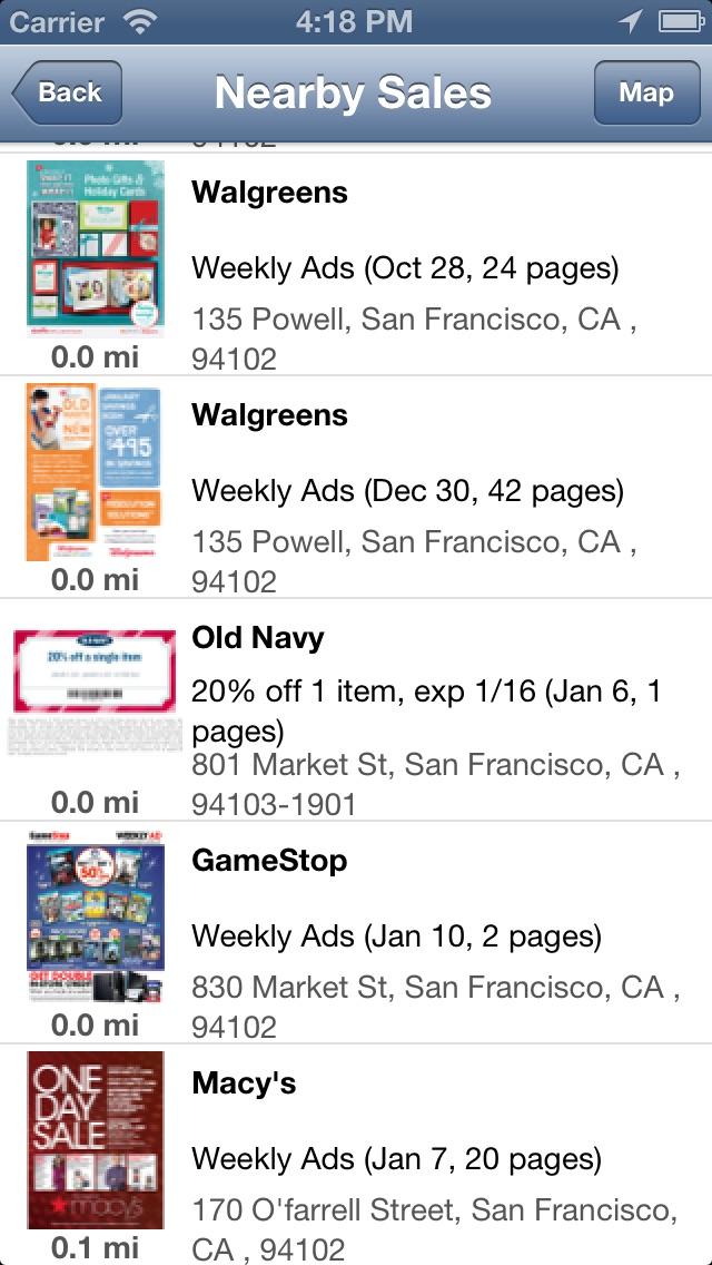 Weekly Ads & Sales for Kohls, CVS, Publix, Bestbuy, etc Screenshot