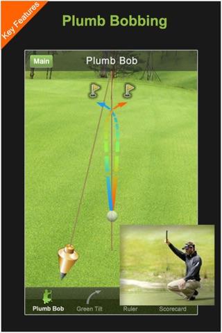 パイゴルフ グリーンリーダー(phiGol... screenshot1