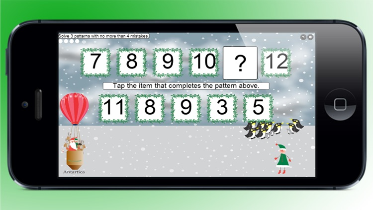 Kids Christmas Pattern Game by Corvid Apps screenshot-4