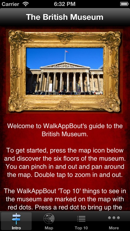 British Museum Audio Guide & Map